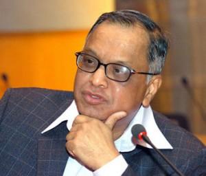 Narayana Murthy. Fundó infosys (hoy en dia una de las empresas más prometedoras de India) con tan solo 250 dólares.