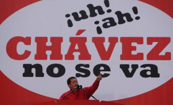 Chavez no se va